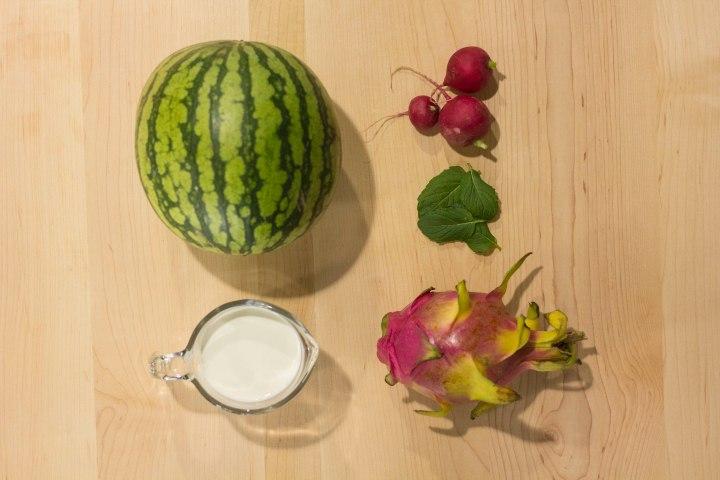 Creamy Heart Soup Ingredients