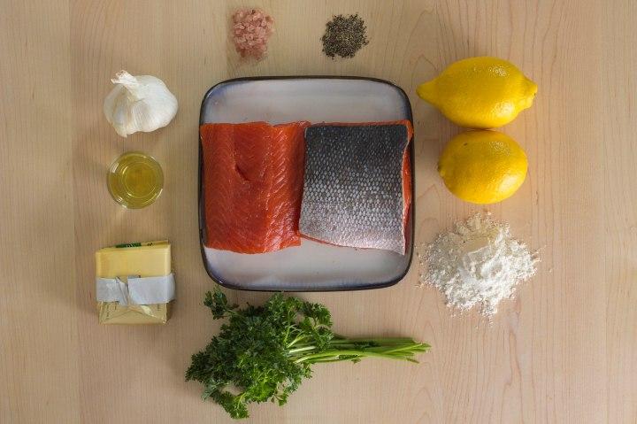 salmon meuniere ingredients