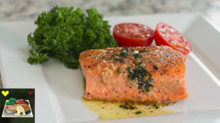 Salmon Meunière