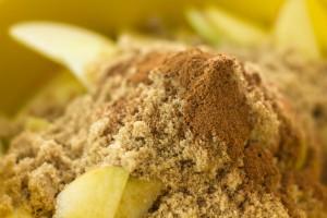 brown sugar and cinnamon
