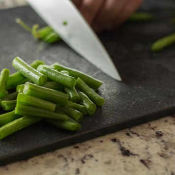1 inch green beans
