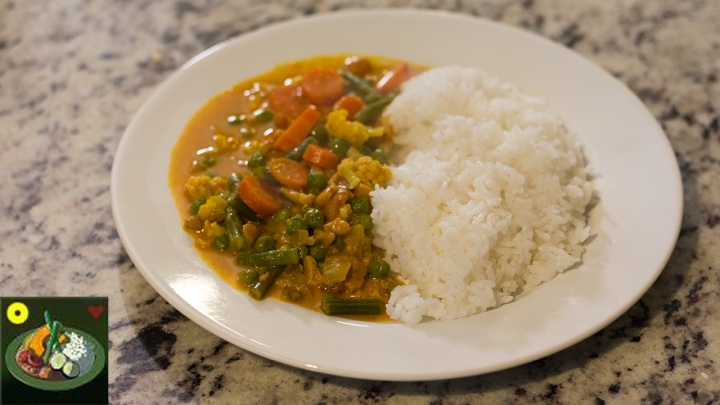 Vegetable curry header