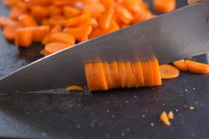 chop the carrots