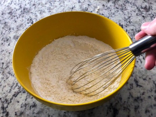 whisk together dry