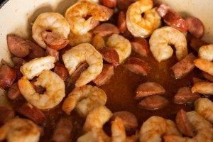 shrimp and sausage